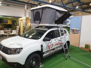 Hartschalen Dachzelt Modell Frankfurt